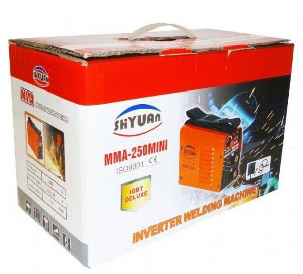 Сварочный инвертор Shyuan MMA 250 mini Deluxe