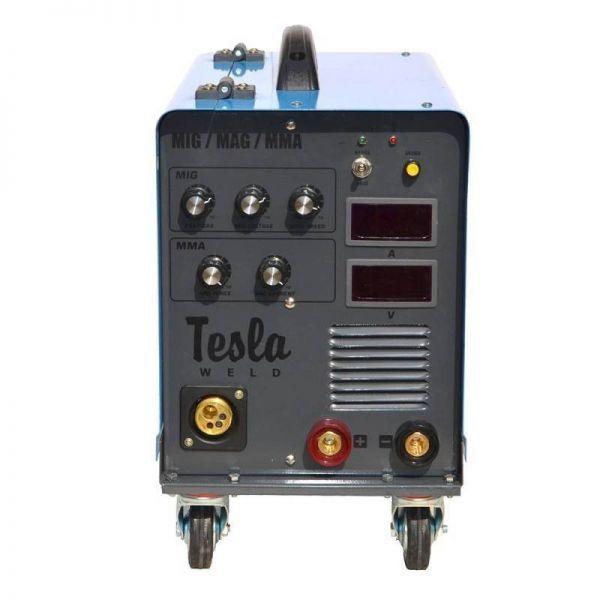 Полуавтоматический сварочный аппарат TESLA MIG/MAG/MMA 305 (ПРОВОЛОКА + ЭЛЕКТРОД)