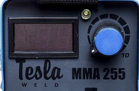 Сварочный инвертор Tesla ММА 255 IGBT + ПЛАСТИКОВЫЙ КЕЙС