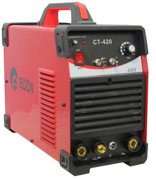 Сварочный аппарат Edon CT-420 3 в 1 (CUT+TIG+MMA)