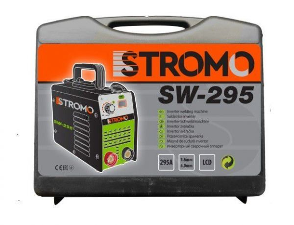 Сварочный инвертор Stromo sw 295 в кейсе