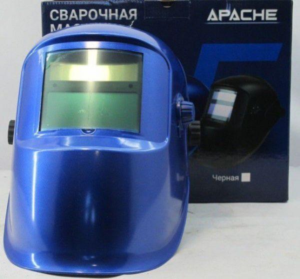 Маска сварщика хамелеон Vita apache цвет синий