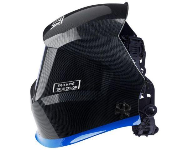 Маска сварщика хамелеон VITA TIG 3-A Pro TrueColor (цвет черный)