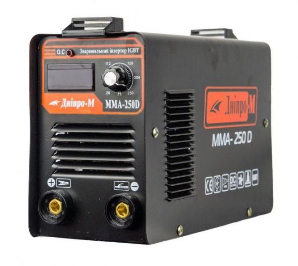 Сварочный инвертор Дніпро-М ММА 250 DВ (дисплей, кейс)