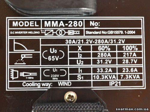 Сварочный инвертор Белмаш MMA-280 (чемодан)