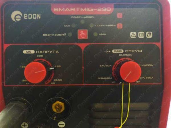 Сварочный полуавтомат Edon SMARTMIG 290