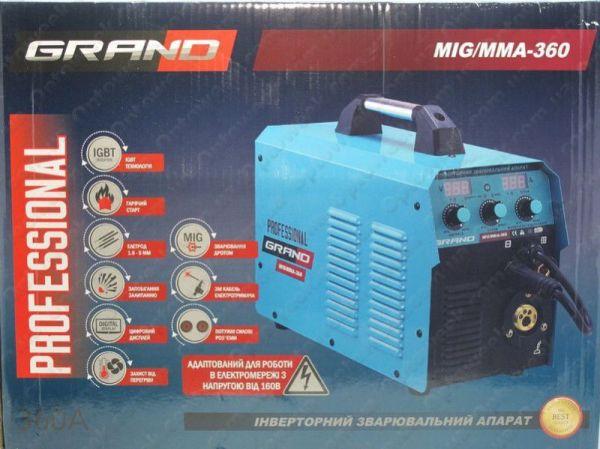 Сварочный полуавтомат Grand MIG/MMA-360