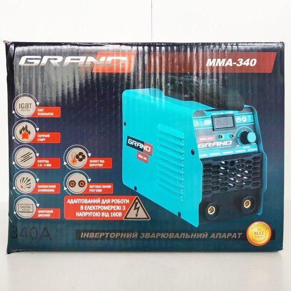 Сварочный инвертор Grand MMA-340