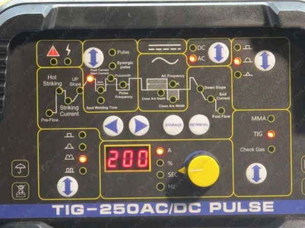 Аргонная сварка Искра Профи COBALT TIG 250 AC/DC Pulse