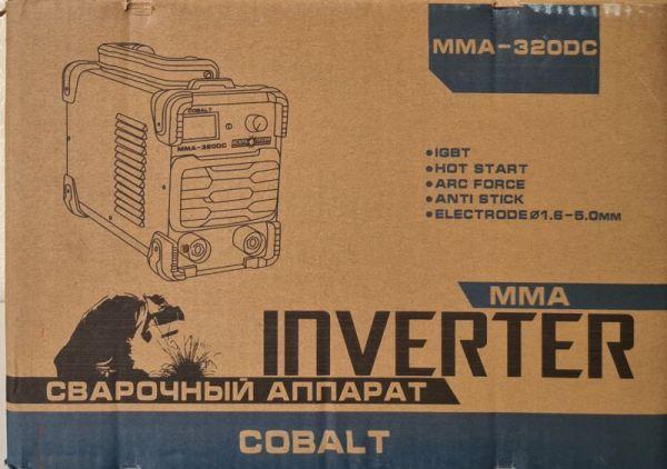 Сварочный инвертор Искра Профи COBALT ММА 320DC