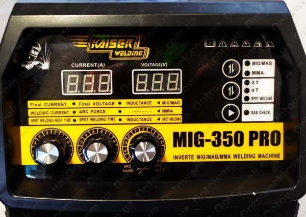 Сварочный полуавтомат Kaiser MIG-350 PRO