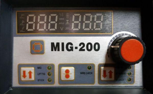 Сварочный полуавтомат Спика MIG 200 (+TIG+MMA)