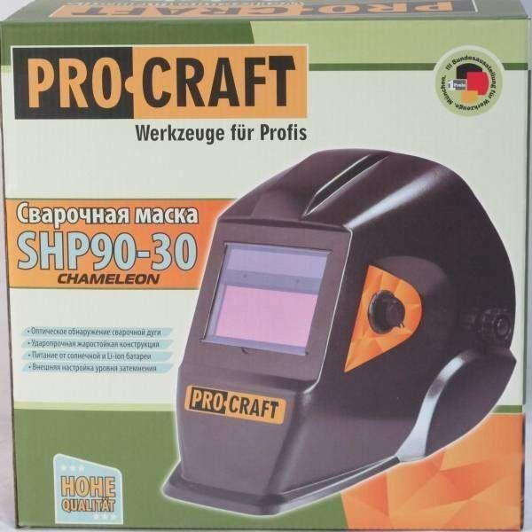 Маска сварщика хамелеон Procraft SHP90-30