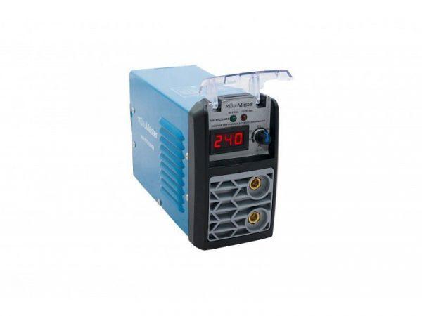 Мини сварочный инвертор BauMaster IGBT 270А, смарт, дисплей AW-97I27SMD