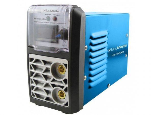 Мини сварочный инвертор BauMaster IGBT 270А, смарт, дисплей AW-97I27SMDK