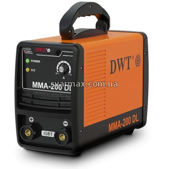 Зварювальний інвертор DWT MMA-200 DL