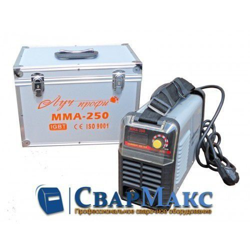 Сварочный инвертор Луч Профи ММА 250 (алюминиевый кейс)