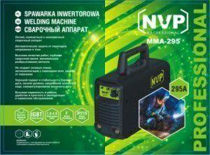 Сварочный инвертор NVP ММА-295 (пластиковый кейс)
