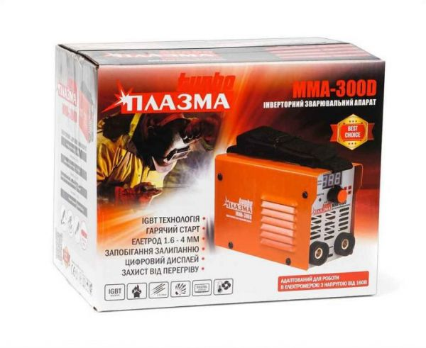Сварочный инвертор Плазма Turbo ММА-300D